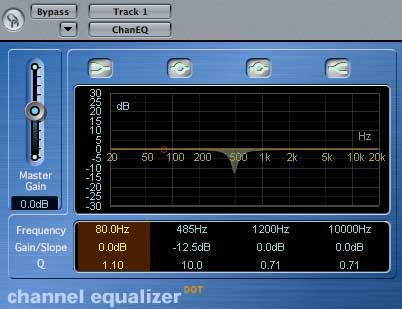 narrow graphic eq