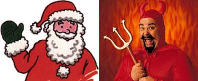 santa to satan